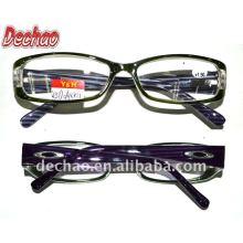 Moda gafas moda clásica rápidamente limpia alta potencia gafas de lectura