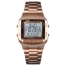 High end gold skmei digital jam tangan watches men