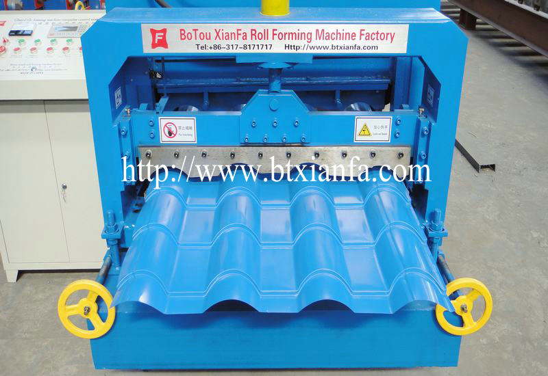 aluminium roof making machine 3