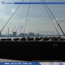 Barcaça de pontão flutuante de água de aço para dragagem e transporte marítimo (USA-3-003)
