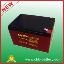 Batería de almacenamiento de alta velocidad VRLA para el sistema de alarma 12V 8ah