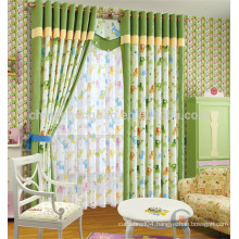 Kids models bedroom curtain style for room divider
