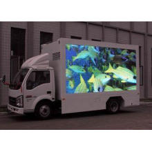 HD mobile dynamic electronic LED display boards for moving