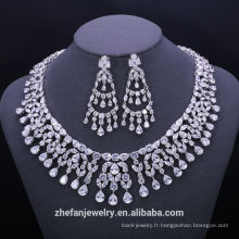 Fournitures de bijoux fournitures 18 carats or jaune bijoux grand collier en laiton avec zircone Fournitures de bijoux fournitures 18 carat or jaune bijoux grand collier en laiton avec zircone