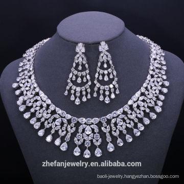 Jewelry making supplies 18 carat yellow gold jewelry big necklace brass with zirconia Jewelry making supplies 18 carat yellow gold jewelry big necklace brass with zirconia