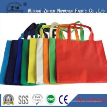 Atmungsaktives pp. Spunbond-nichtgewebtes Gewebe der Supermarktart und weise Einkaufstaschen
