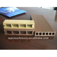 wood plastic profile extrusion line for window profile and door