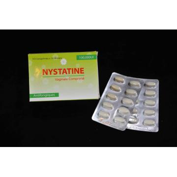 Cheap for Antifungal Drugs Nystatin Vaginal Tablet USP 100000UI export to Turks and Caicos Islands Suppliers