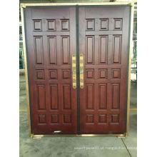 Porta de Cobre de Segurança de aço de design simples elegante
