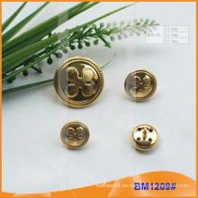 Moda personalizada de metal uniforme botón BM1209