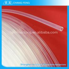 Transparente altamente resistente a temperatura do tubo/virgem ptfe tube/durable100% puro ptfe teflon tubo de ptfe