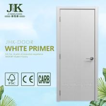 JHK-001 White Panel Doors Internal White Wooden Doors White Panel Interior Doors