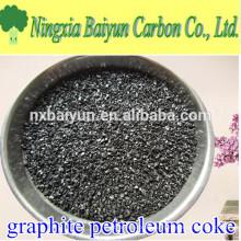 Серы 0.05% ГЦП графитированных нефтяного кокса, углерода добавка