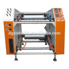 Máquina de corte y rebobinado; Rebobinadora de corte
