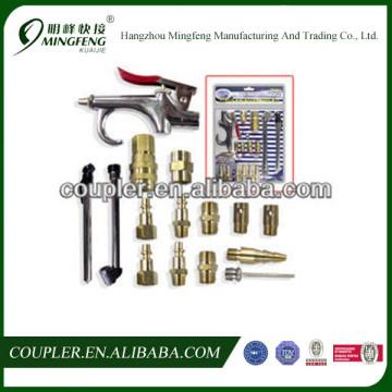 17pc Air Accessory Kit Air Blow Gun Chuck Quick Coupler