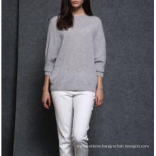 17PKCS49 2017 knit wool cashmere knitted lady sweater