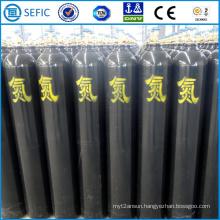50L Seamless Steel High Pressure Nitrogen Cylinder (EN ISO9809)