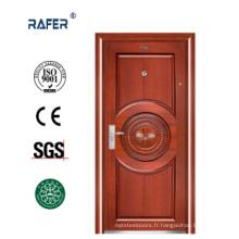 Nouvelle porte de sécurité en acier design (RA-S082)