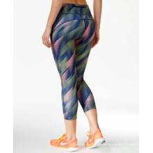 Calcanhar de Yoga de fitness personalizado Legging Legging para mulheres