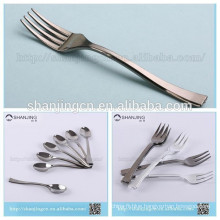 Flatware Type and disposable plastic Material silver spoon