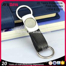 Anel de chave magnética de couro de boa qualidade para homens