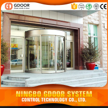Automatic Curved Sliding Door Used For Commercial Places