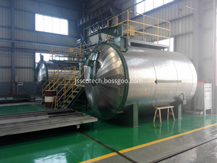 vacuum resin cast tank for dry type transformer