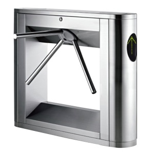Biometrik Stainless Steel Seaport Tripod Turnstile