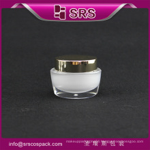 J041 oval shape skin care cream jar , luxury hot sell jar cosmetic