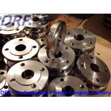 Brida de acero inoxidable (DIN2633 WN40)