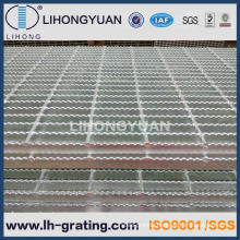 Galvanized Tooth Shape Steel Grating for Walkway