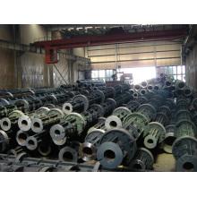 Molde de acero concreto de poste