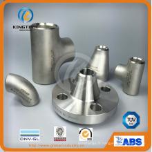 En acier inoxydable, raccord coude 90D de tuyauterie avec TUV (KT0132)