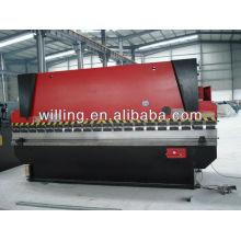 Dobrador hidráulico de chapa metálica produzido na China
