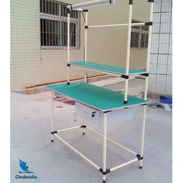 Economic Lean Tube for Assemble Line Workbench