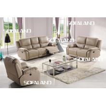 Современная итальянская кожаная софа мебель (768 #)