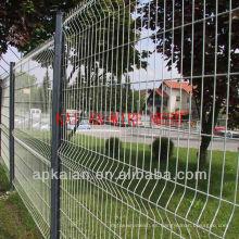 Hebei anping KAIAN PVC recubierto galvanizado malla de alambre cerca