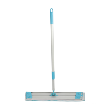 Easy Use 360 Swivel Aluminum Plate Telescopic Handle Cleaning Flat Mop