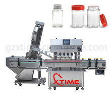 Machine de capsulage à vis automatique de bouteille de pulvérisation de chapeau de pompe