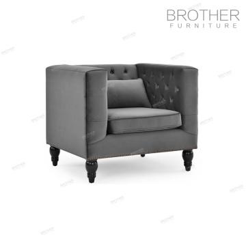 Italian style simple design antique wooden sofa