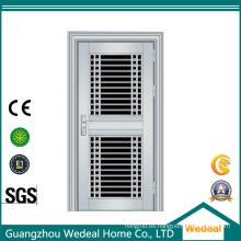 Puertas de acero inoxidable de lujo de alta calidad para casas