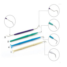 Medical Dental Probe with Single or Double Head