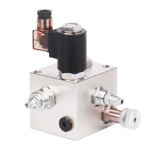 Bloc hydraulique de distributeur de valve de type de cartouche d'HydraForce