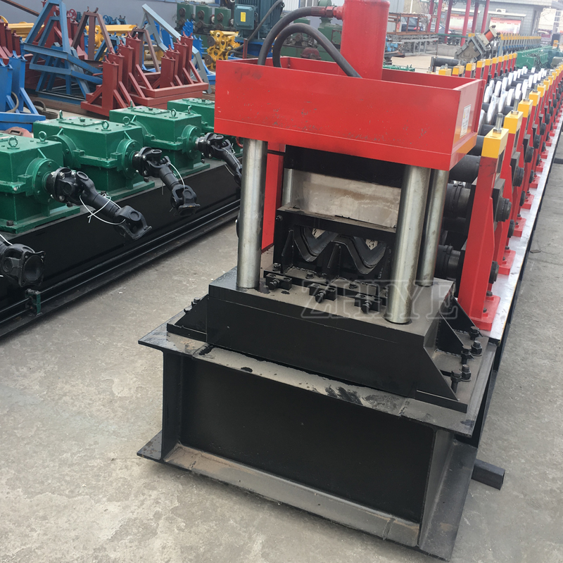 Highway Guardrail Panel Cold Roll Forming Machine