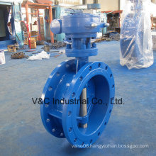 Triple Eccentric Flanged Type Metal Sealed Butterfly Valve