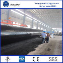 Top quality 2016 hot sale coating steel pipe with big diameter