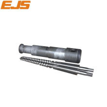 Conical Twin Screw And Barrel For Pipe Extrusion
