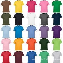 Camiseta llana del poliester de la impresión de la sublimación de la nueva camiseta del diseño de encargo 2017