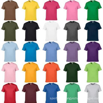2017 new custom design t-shirt sublimation print polyester plain shirt