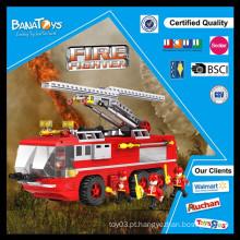 Oferta especial! China bloquear fábrica diy brinquedo brinquedo tijolos para crianças fogo resgate brinquedos